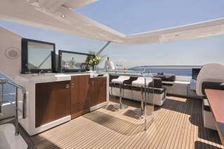 Motor yacht NORTH STAR - Retractable Roof on Sundeck