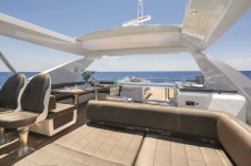 Motor yacht NORTH STAR - Sundeck looking Aft