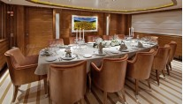 Motor yacht ORAMA -  Formal Dining