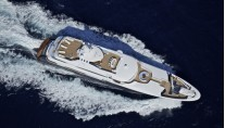Motor yacht ORAMA -  From Above