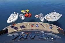 Motor yacht ORAMA -  Tenders and Toys