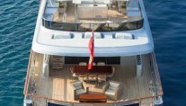 Motor yacht POLLY -  Decks from above