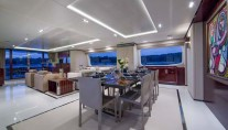 Motor yacht POLLY -  Formal Dining