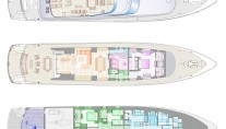 Motor yacht POLLY -  Layout
