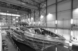 Motor yacht Project Azuro - front view