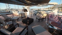 Motor yacht QUEST R - Sundeck Seating