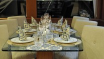Motor yacht REFLECTIONS - Dining