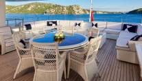 Motor yacht REVE D OR 46M - VIP cabin private deck