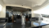 Motor yacht RG 512 -  Aft Deck Dining