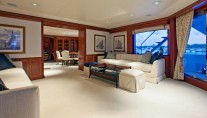 Motor yacht RHINO -  Sitting Area main deck