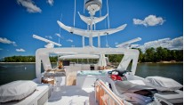 Motor yacht SALACIA - Flybridge Looking forward