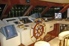 Motor yacht SALEE -  Wheelhouse
