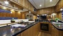 Motor yacht SAMARIC  -  Galley