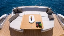 Motor yacht SCUDERIA -  Aft Deck Seating