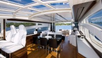 Motor yacht SCUDERIA -  Salon and Dining