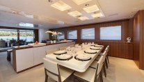 Motor yacht SEA SHELL -  Formal Dining