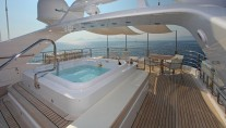 Motor yacht SEA SHELL -  Sun Deck Spa Pool