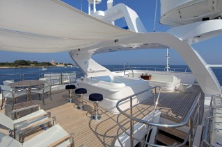 Motor yacht SEA SHELL -  Sun Deck