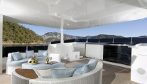 Motor yacht SERENITAS - Flybridge seating