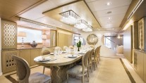 Motor yacht STELLA MARIS -  Formal dining 2