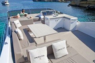 Motor yacht SUMMER BREEZE - Flybridge.JPG