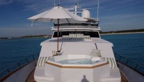 Motor yacht TRILOGY -  Foredeck Spa Pool 2