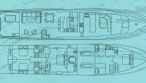 Motor yacht TRILOGY -  Layout