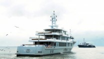 Motor yacht YOGI launched by Proteksan Turquoise