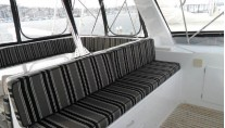 Motor yacht ZIA -  Flybridge Seating