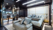 Motor yacht Zahraa - Owners Cabin - Photo by AA Photodesign