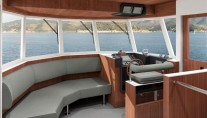 Motor yacht support boat Project YXT One - Wheelhouse