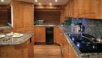 Motor-yacht-Hatteras-77-Convertible-Galley