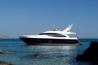 MotorYacht Princess 72 - Image courtesy of Princess Yachts International. jpg