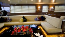 Motorsailer yacht 60 Years - Salon