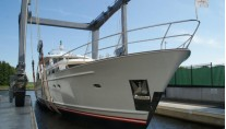 Mulder 73 Wheelhouse Yacht Float after refit