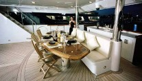 Mustang Sally - Evening Dining Aft Deck