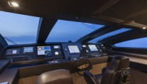 Mythos Yacht - Wheelhouse - Photo by Alberto Cocchi