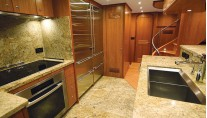 N86 superyacht Koonoona - Galley