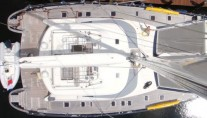 NAHEMA IV -  Deck from above