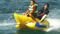 NAHEMA IV -  Enjoying Watertoys on charter