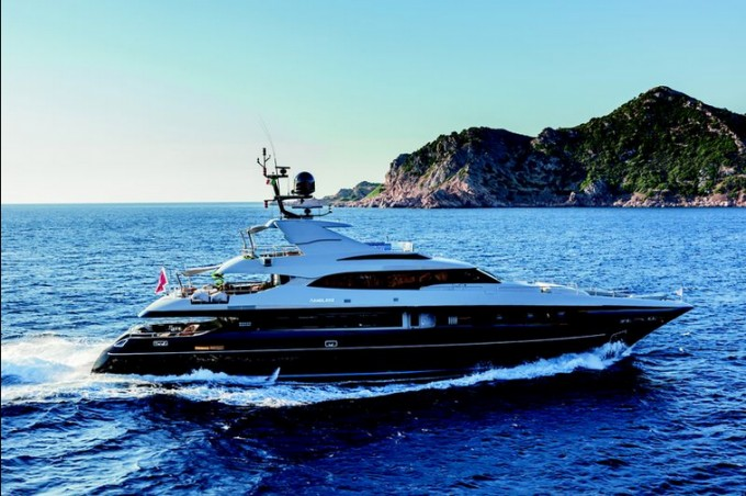 Motor Yacht NAMELESS (hull 18/8)