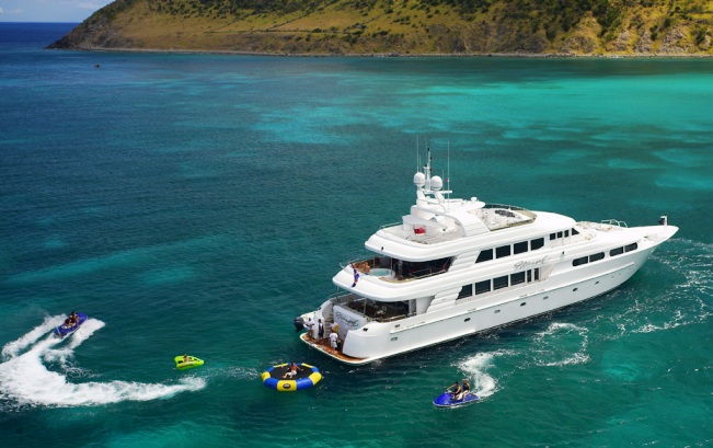 Nicole Evelyn Namoh Water Toys Main Luxury Yacht