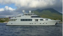 NEW MOON II - Anchored off Nevis