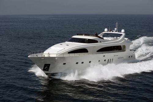 Motor yacht nira greece yacht charter for Motor boat rental greece