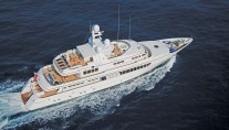 Feadship Charter Yachts in Aegean Islands