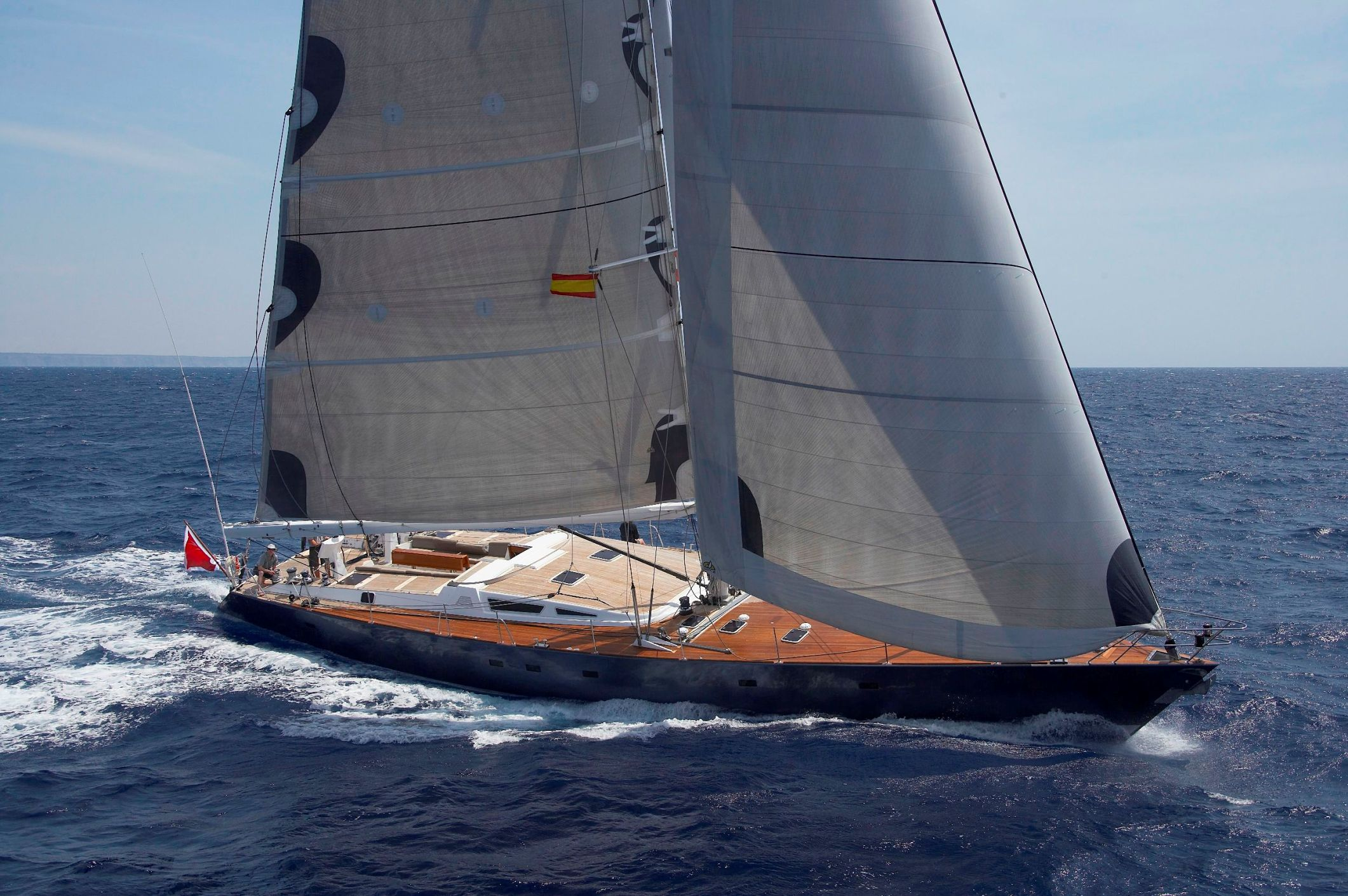 Sailboats In The Caribbean: NOHEEA Yacht Charter Details, Sailing Yacht By Trehard