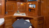NOHEEA - The Study Desk in her Master Cabin