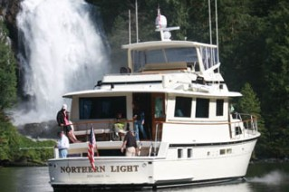 NORTHERN LIGHT aft view