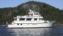 Hatteras Charter Yachts in Desolation Sound