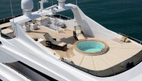 Nadara 43 m Tri-Deck motor yacht - Spa Pool